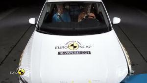 2016款大众途观 欧洲安全碰撞测试 全面测试