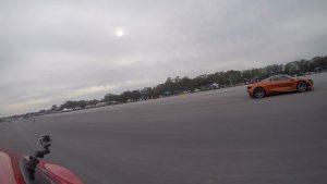 迈凯伦720直线竞速法拉利F12