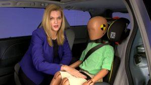 美国公路安全保险协会 儿童安全座椅测试