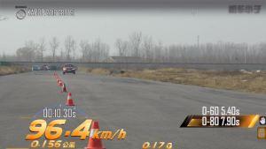 斯柯达柯珞克超级评测满载刹车测试项目