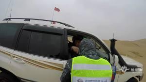 轮语者讲述 | 越野e族北京大队库布其沙漠穿越赛