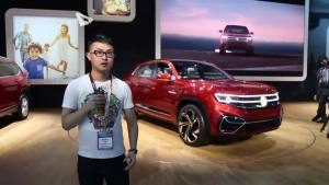 2018纽约车展:大众Atlas Cross Sport概念车