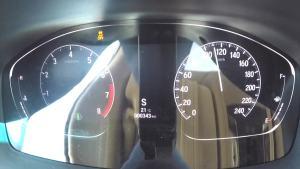 雅阁 超级评测0-100km/h加速仪表盘