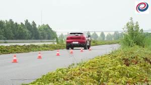 哈弗F5刹车测试