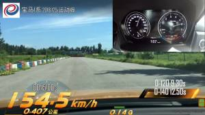 宝马125i超级评测加速测试混剪