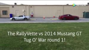 拔河大战:科尔维特vs野马GT