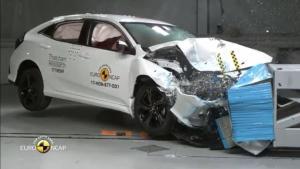本田思域E-NCAP二次碰撞试验评估后获得五星评价!