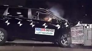2008款 本田 奥德赛日本自動車事故対策機構碰撞测试