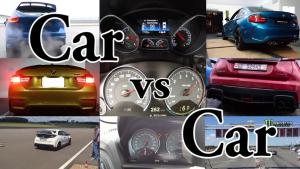 2016款科迈罗SS VS 福特野马GT5.0—竞速声浪大挑战