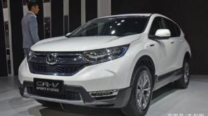 东风Honda携强大阵容亮相武汉车展  2019款CR–V焕新
