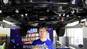 这辆非承载车身的底盘如何?荣威RX8底盘拆解