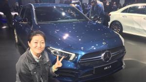 #巴黎车展现场直击#奔驰AMG A35发布,会是史上最受欢