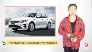 广州车展正式亮相  东风悦达起亚K5 Pro车型官图发布