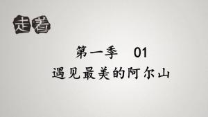 《走着》第一季01 遇见最美的阿尔山