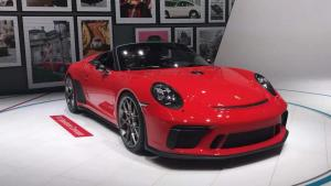 保时捷911 Speedster II巴黎车展