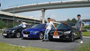 捷豹XEL、Q50和ATS-L中级车对比,谁能胜出?