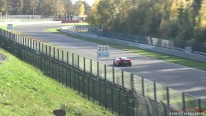 法拉利488 Pista斯帕赛道狂飙 号称最美488