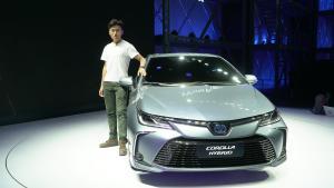 【广州车展实拍】TNGA双擎卡罗拉,预计价格依旧坚挺