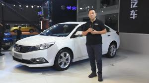 2018广州车展一分钟快报 众泰Z500EV亮相