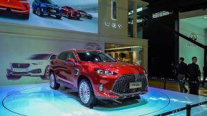 【2018广州车展】变大了还更省油 展台体验WEY P8 GT
