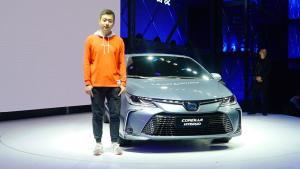 2018广州车展李寅展台揭秘全新卡罗拉