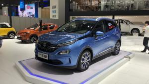 2018广州车展-北汽新能源EX3正式