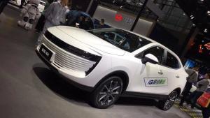 续航里程401公里,欧拉iQ高续航版广州车展上市
