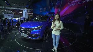 它会是你的第一选择吗?长安CS85广州车展惊艳亮