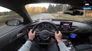 780马力奥迪RS6 Elmerhaus试驾体验