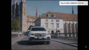 奔驰X Class皮卡系列