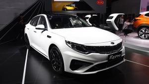 动感再升级 起亚K5 Pro亮相广州车展
