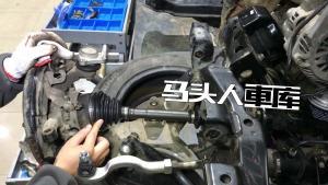 前轮如何被发动机带着转?好的汽车半轴就像关节