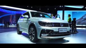 向进口造型设计靠拢 广州车展静态体验大众新途观L