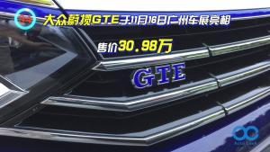 大众蔚揽GTE 混动版蔚揽 1.4T配116Ps电机 油耗仅2L