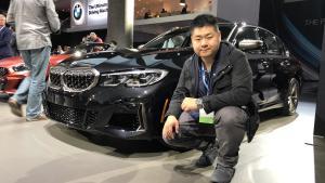 【2018洛杉矶车展】二师兄带你看新款宝马M340i