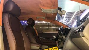 西安汽车改装奥迪A6改装内饰真皮座椅
