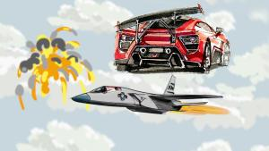 大炮评车:飞机黑科技在汽车上的应用
