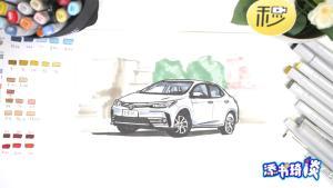 拓海开这台车在秋名山暴虐GTR 如今已沦为买菜车