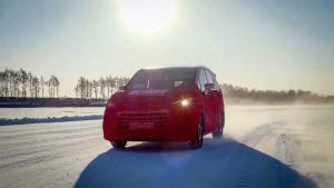 上汽大通全新MPV,和G50一起在冰雪世界发现无限可能