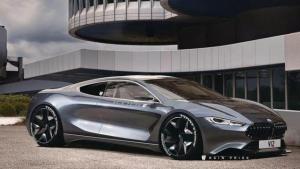 宝马M系的重生 宝马V12超级跑车效果图