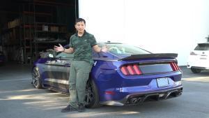 破百仅3秒!在美国开720马力的野马GT是什么体验