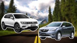 途观L&昂科威 20万级别中型SUV该选谁?