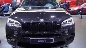 2018款宝马X5 M黑色版新车实拍