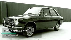 丰田卡罗拉五十年品牌演变史 1969 - 2018