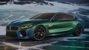 日内瓦车展新车抢先看之BMW M8 Gran Coupe