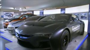汽车工业的美,宝马博物馆之流动的梦想!