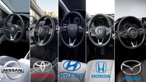 日韩五款B级车,哪一辆你会推荐给你的朋友?