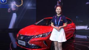 最美两厢车 新一代长安逸动XT亮相北京车展