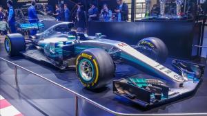 秒杀全馆超跑 梅赛德斯 F1赛车 展台解析
