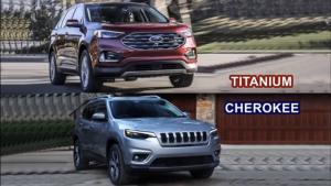 2019款福特锐界Titanium对比Jeep自由光!